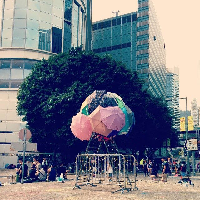 Umbrella revolution_5