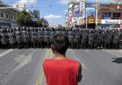 Protest i Qidong